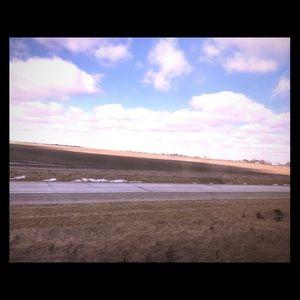 Plains Winter Transversing (Photo)